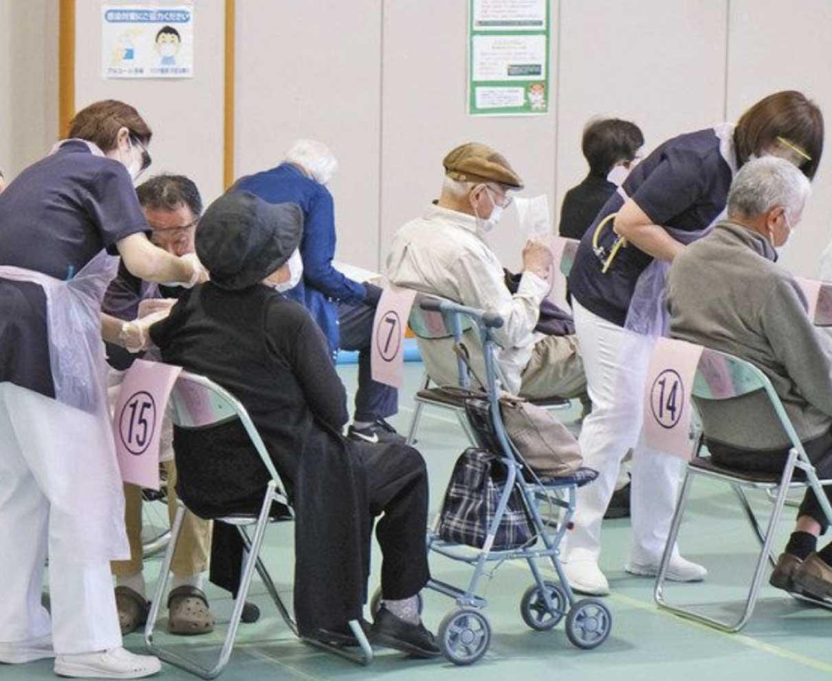 【福井】県内各地でワクチン個別接種始まる