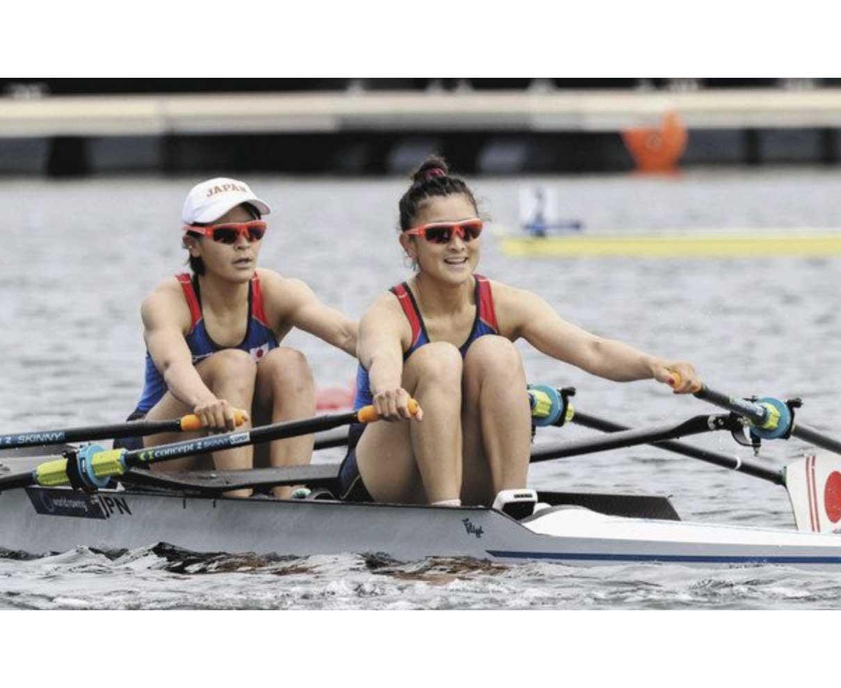 アジア・オセアニア ボート 冨田組決勝進出 ダブルスカル予選首位