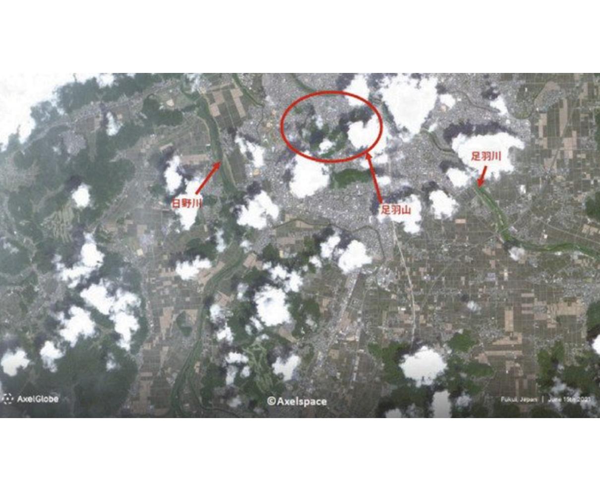 県民衛星 定常運用後初の画像 上空600キロからの福井市