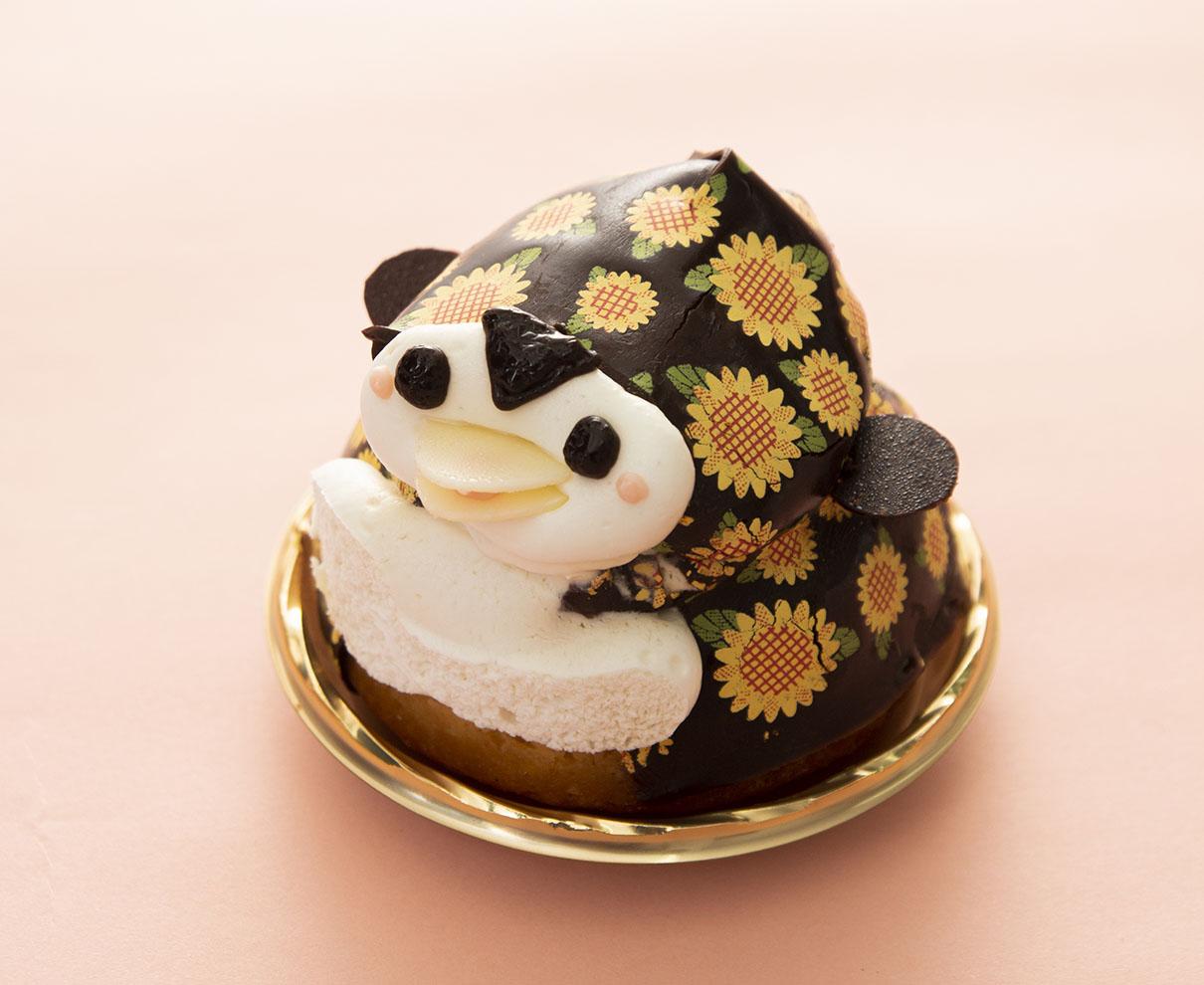 今日のおやつは、菓心所 菓子の木のペンギンレモンケーキ♪