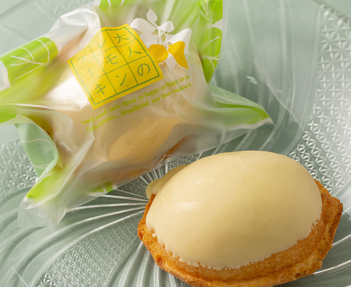 今日のおやつは、ベルジェ・ダルカディ弁慶堂の大人のレモンケーキ♪