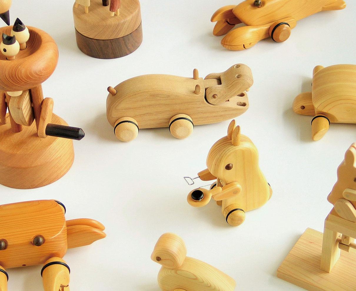 【6/6~】蓮渓円誠さんが命を宿す! 動くカラクリ玩具の展覧会が開催|ウッドラボいけだ