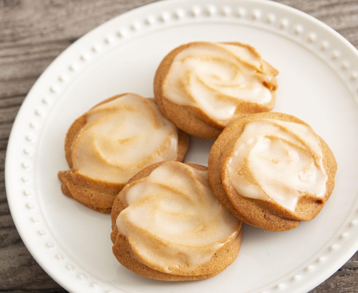 今日のおやつは、百姓の館 村国店で買えるユウイロの国産檸檬のクッキー♪