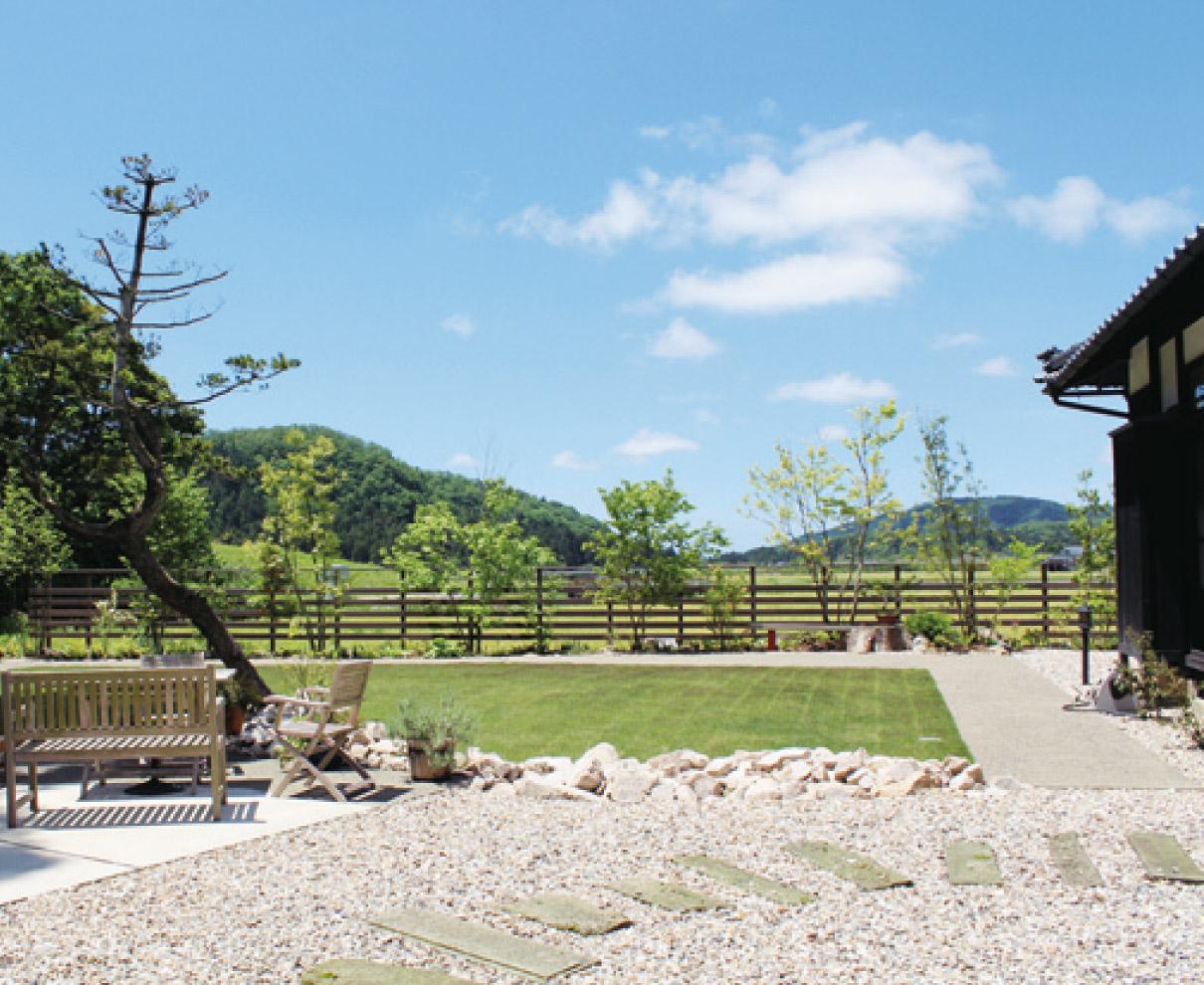 庭で過ごす贅沢な時間 「ステイガーデン」。|緑香庭(りょっかてい)