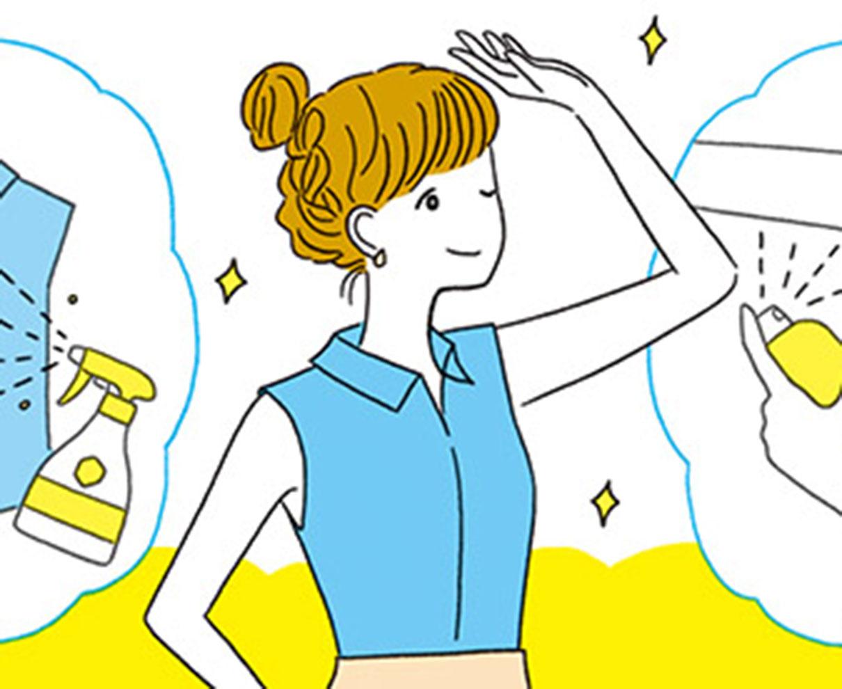 教えて! かずのすけ先生! 暑い夏も爽やかに過ごすための効果的な汗&ニオイ対策は?