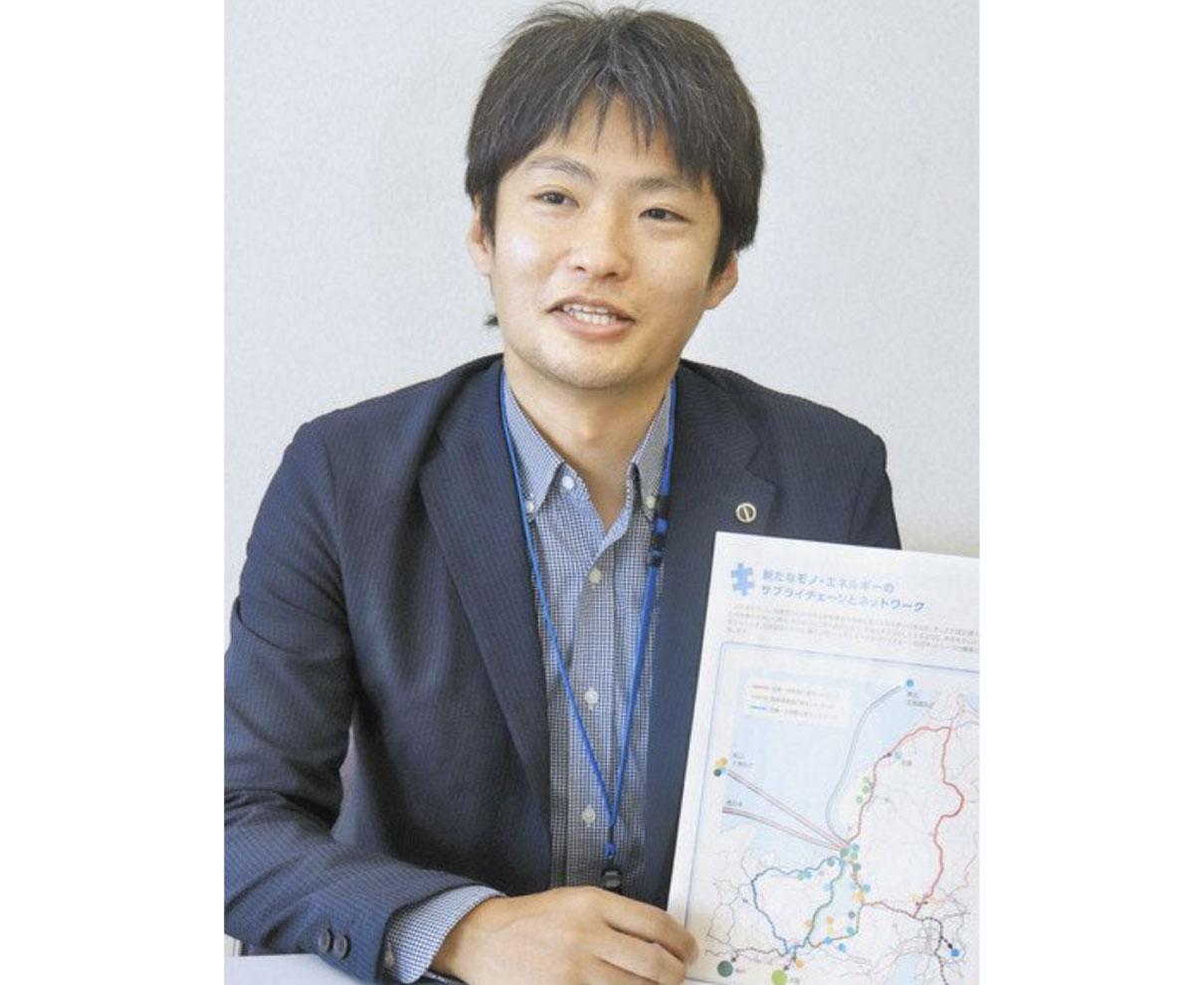 敦賀市政策幹・森川さんに聞く 経産省から出向 水素エネで企業誘致へ