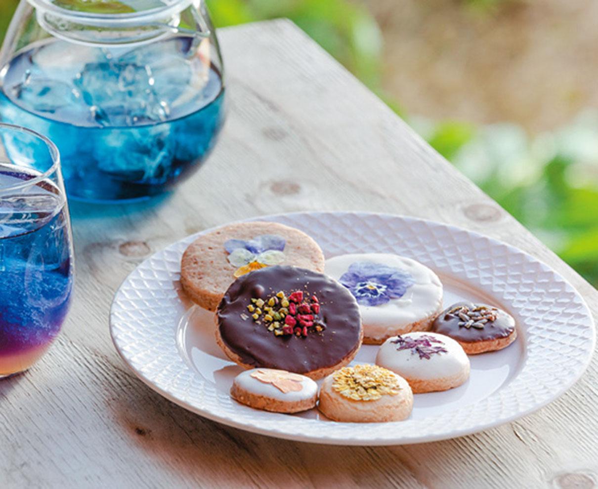 今日のおやつは、きなりの酒粕クッキー♪