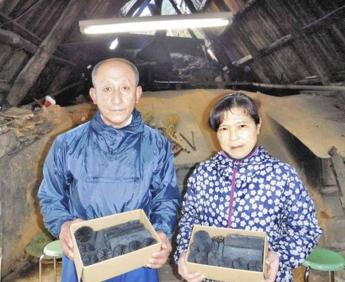 杉本さん夫妻(福井)大臣賞 林業経営改善、発展に貢献