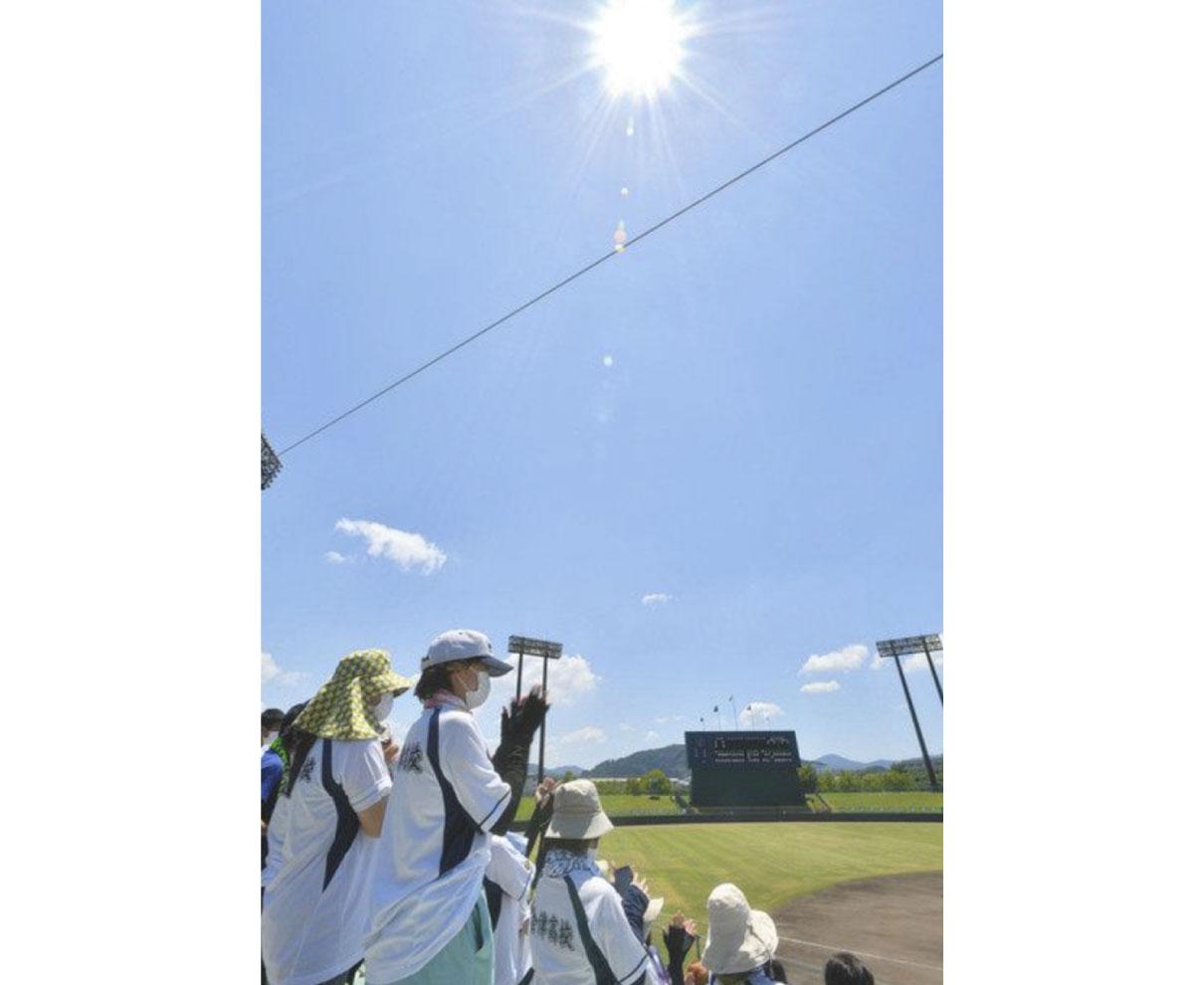 県内に熱中症警戒アラート 小浜36.5度 今季初猛暑日