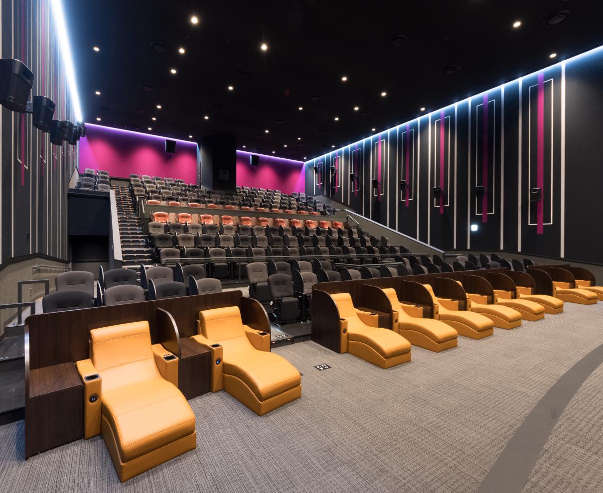 「イオンシネマ白山」誕生! 安心・安全の劇場で極上の映画体験を味わおう。