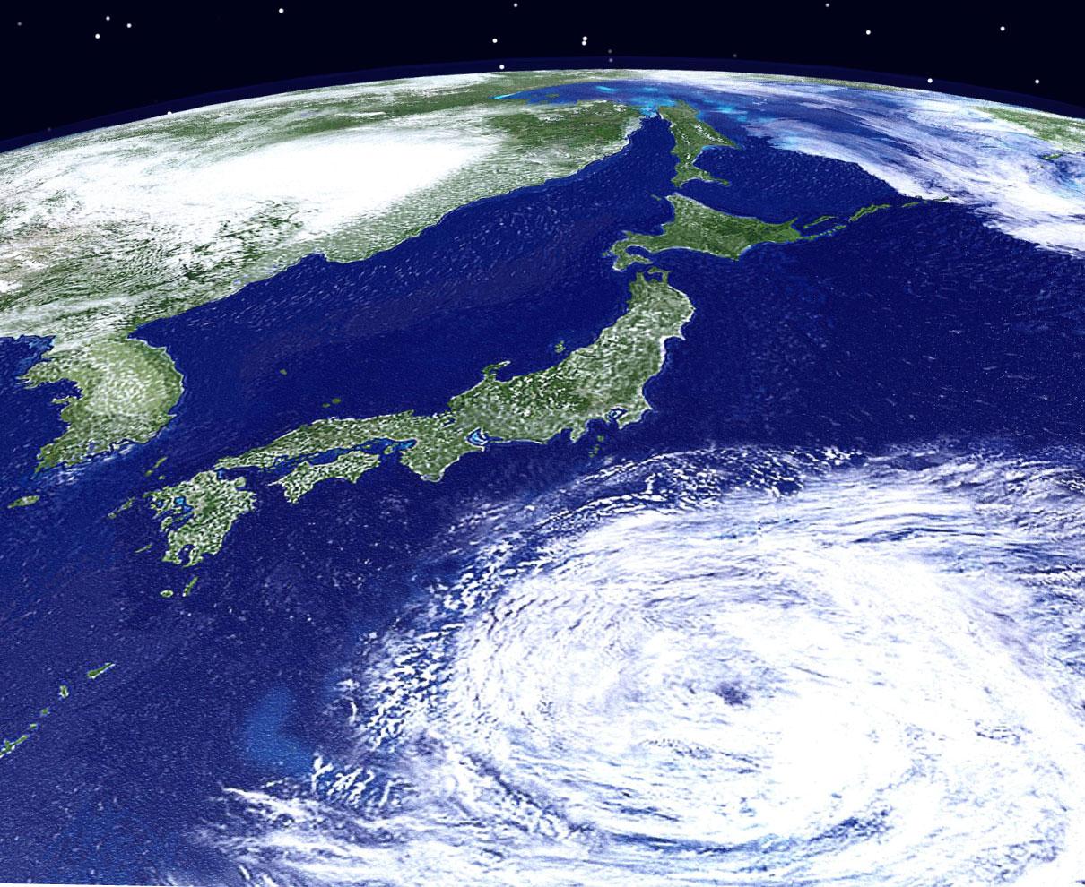台風の予報円ってご存知?  見方を学んで災害に備えましょ。|気象予報士 二村千津子の風と雲