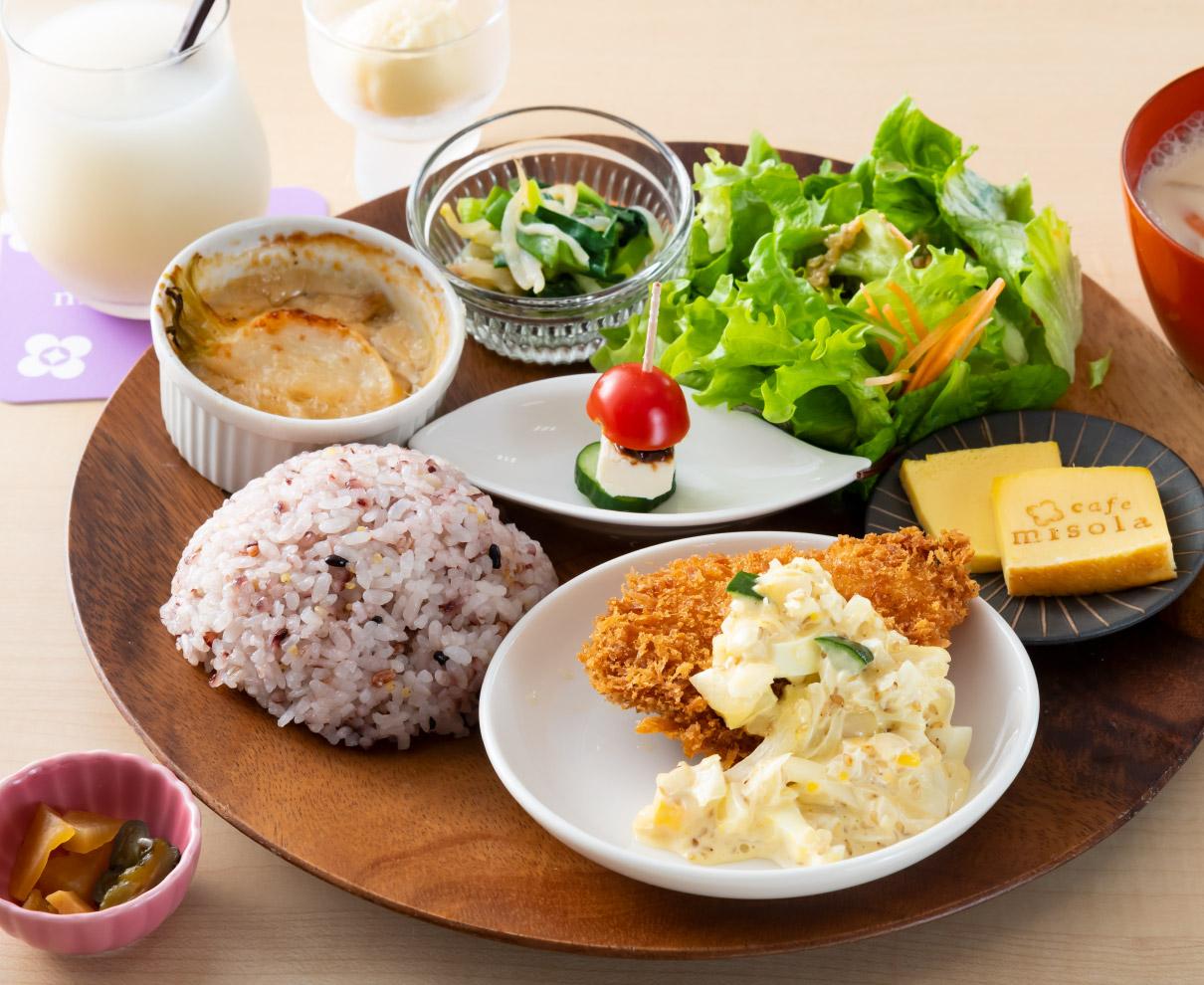 福井市のカフェ『misola(みそら)』の発酵食ランチで元気になろう!