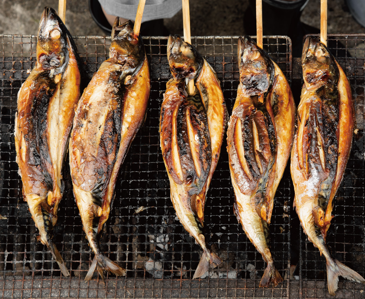 小浜市の『朽木屋』の浜焼き鯖を丸ごと一尾かぶりつき! 夏に食べたいご当地グルメを買いに行こう。