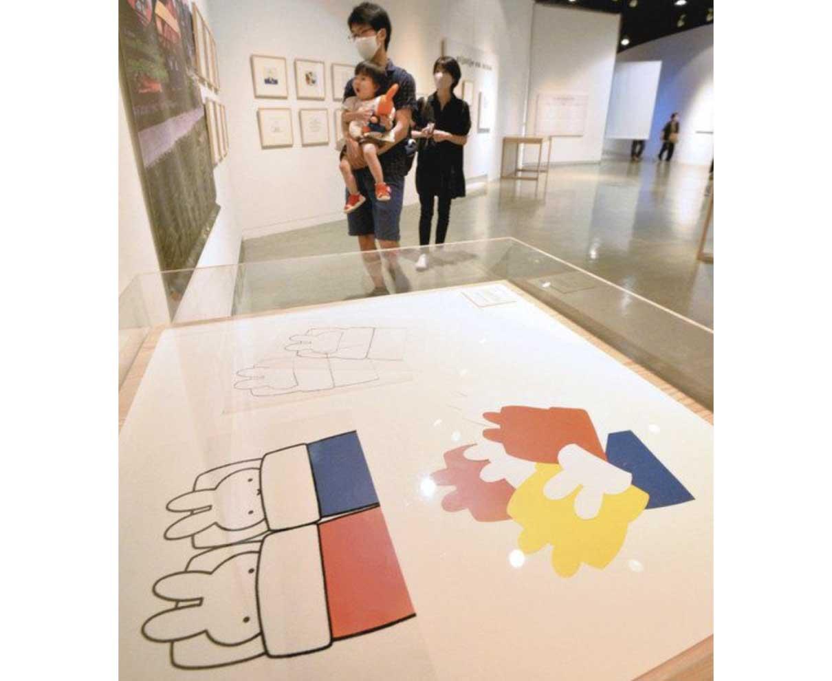 ミッフィー原画、色鮮やか 福井市美術館で全国巡回展