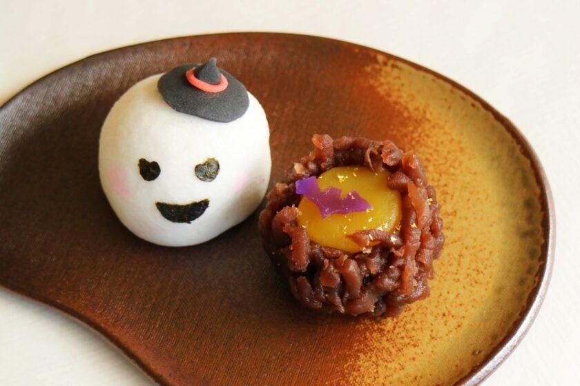 ハロウィーンの和菓子づくり体験