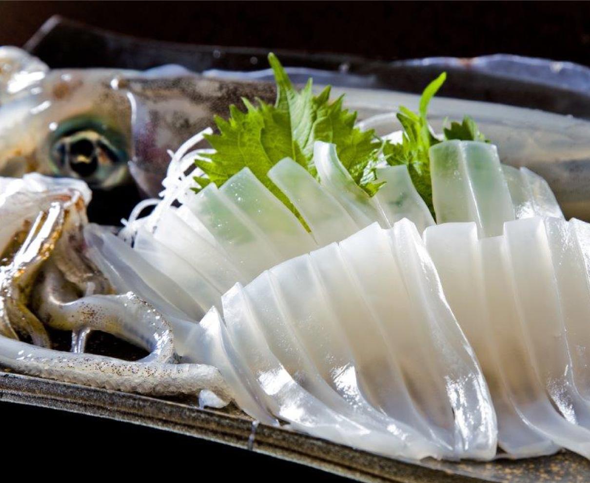 若狭町の旬のグルメは「新アオリイカ」や「若狭ふぐ」! ドライブ気分で美味しい旬を食べに訪れよう。|若狭町