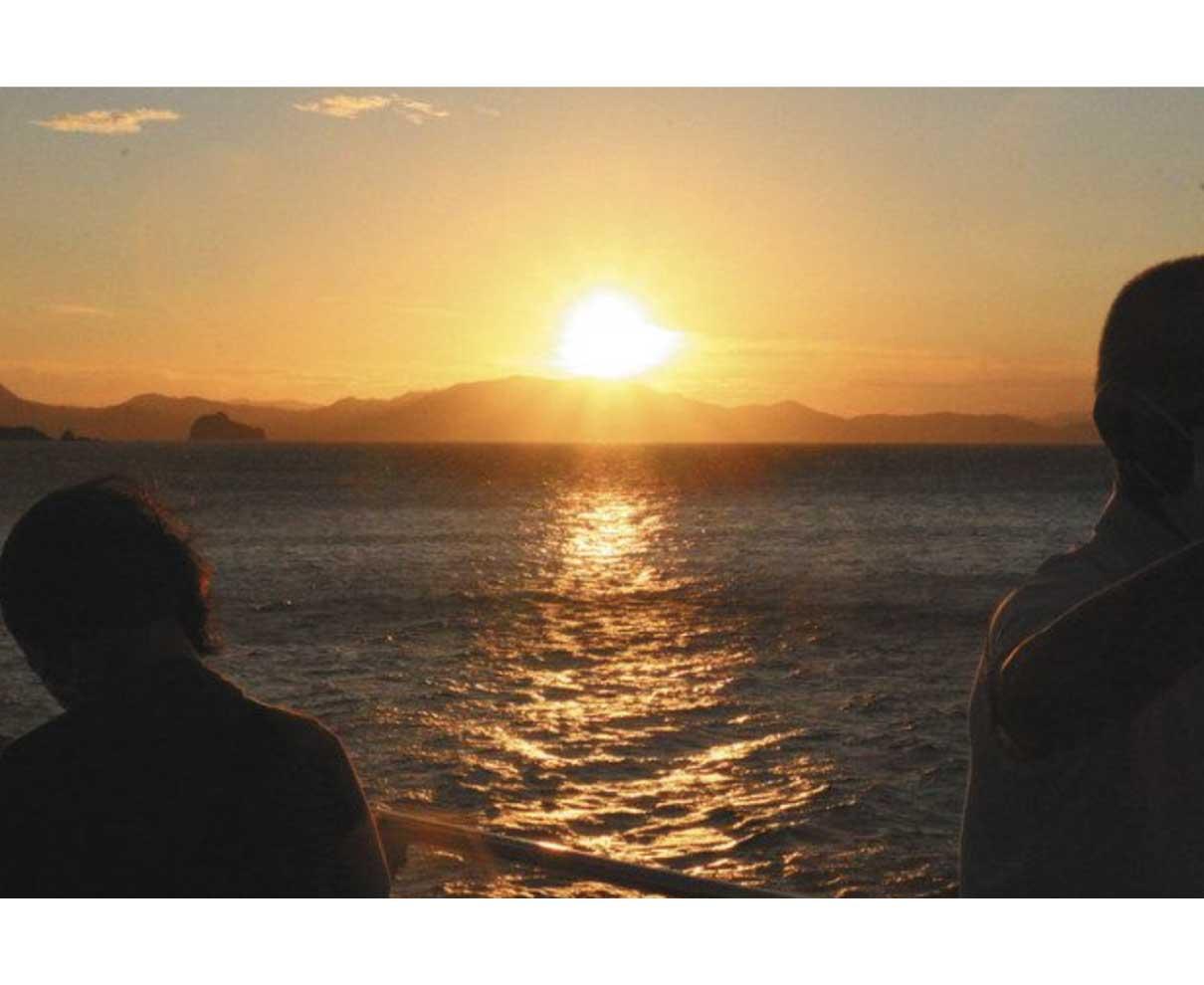 秋の小浜 船、バスで旅を 来月末までキャンペーン