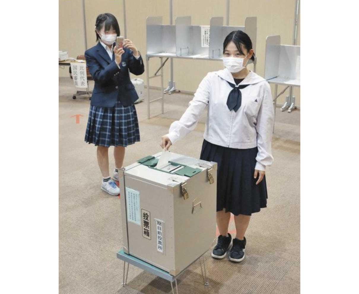 選挙啓発動画を撮影 −鯖江市役所JK課−